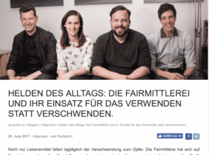 Die Fairmittlerei auf iamgreen.at