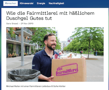 die Fairmittlerei auf techandnature.com